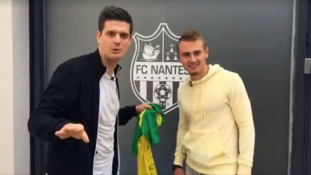 Découvrez les installations du FC Nantes avec Valentin Rongier