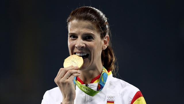 Ruth Beitia, bronce en los Juegos Olímpicos de Londres... más de seis años después