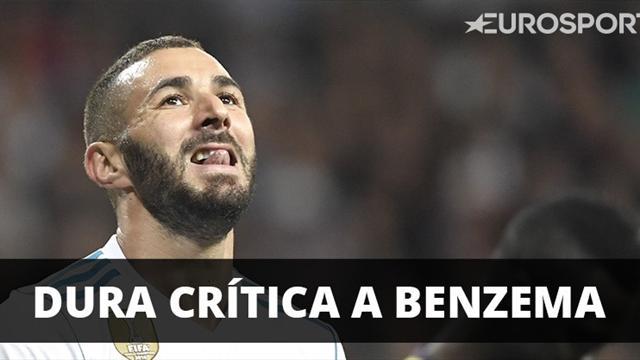 Para Zidane, Benzema es el mejor 9 del mundo