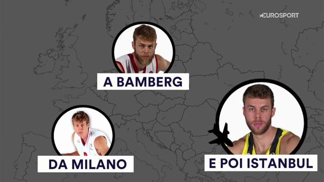 Da Milano a Istanbul, passando per Bamberg: Nicolò Melli è diventato grande