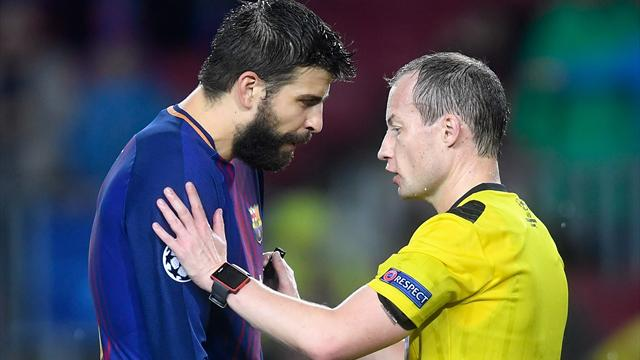 Jeu de main, jeu de vilain : Piqué a voulu jouer au plus malin… il s'est fait expulser