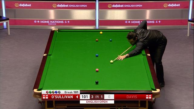 'Simply superb!' - O'Sullivan races through colours for second ton in a row