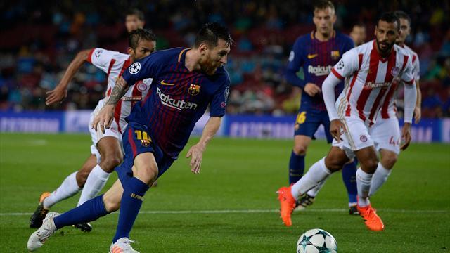 Messi se rapproche de la barre des 100