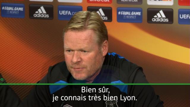 """Koeman : """"J'aime le style de Lyon"""""""