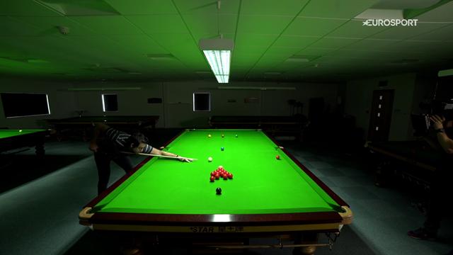 A lezione di snooker da Ronnie O'Sullivan: il segreto di un buon 'traversino'