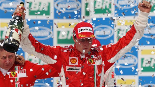 La Ferrari non vince il Mondiale piloti dal 2007, ma non è il digiuno più lungo della storia