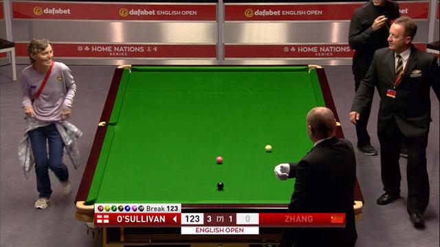 O'Sullivan reveals his bizarre conversation with intruder