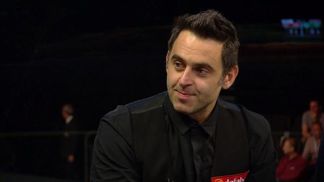 Ronnie: 'You must watch Taylor play darts, Woods play golf... and Higgins play snooker'