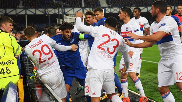 Everton-OL part en bagarre générale… avec des supporteurs anglais