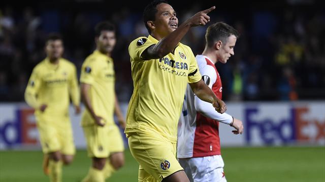 El Villarreal iguala un 0-2 en contra y se mantiene colíder de su grupo (2-2)