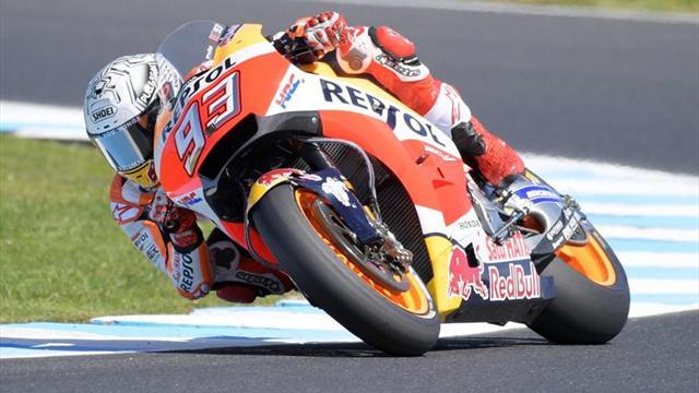 Márquez, ganador en Australia y cerca del título