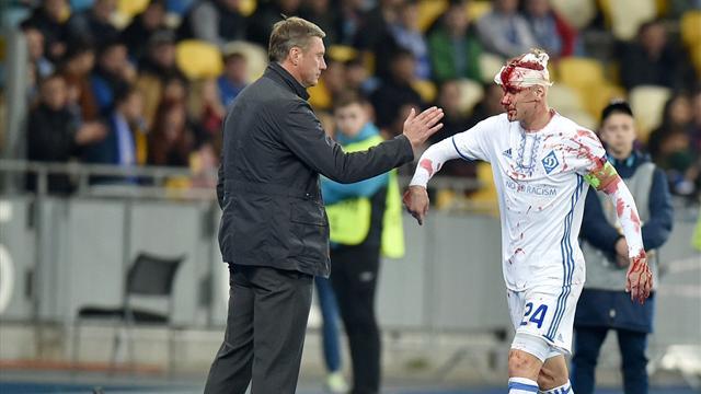 5 фото защитника киевского «Динамо», голова которого превратилась в кровавое месиво