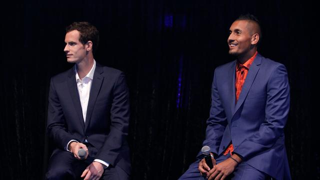 Kyrgios says he will partner Murray in doubles 'assuming he ever gets fit'
