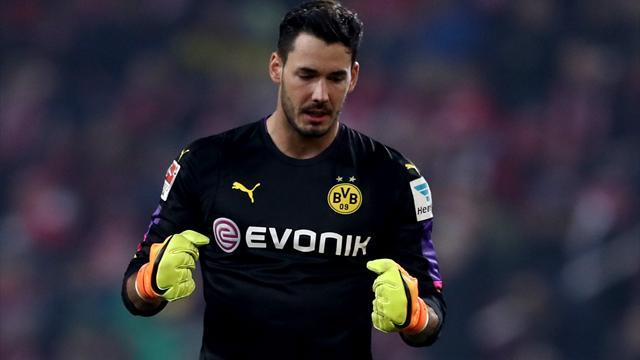 Un Bürki en état de grâce projette Dortmund à la deuxième place