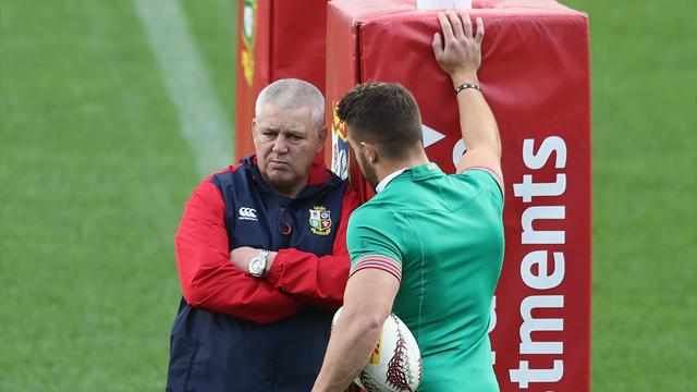 Warren Gatland named Lions coach for record-equalling third time