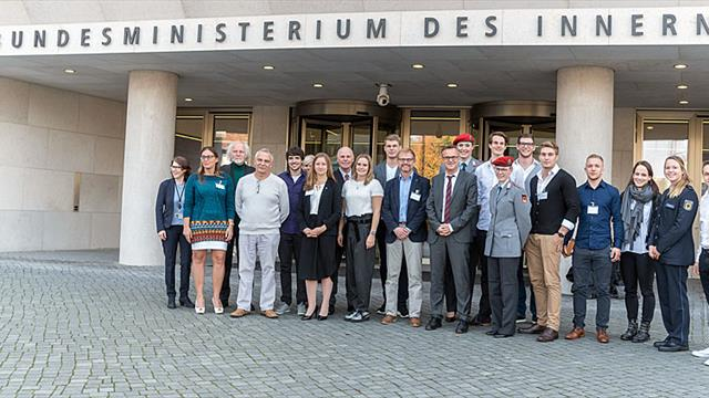 German 2017 SU Medallists honoured at Federal Ministry of the Interior