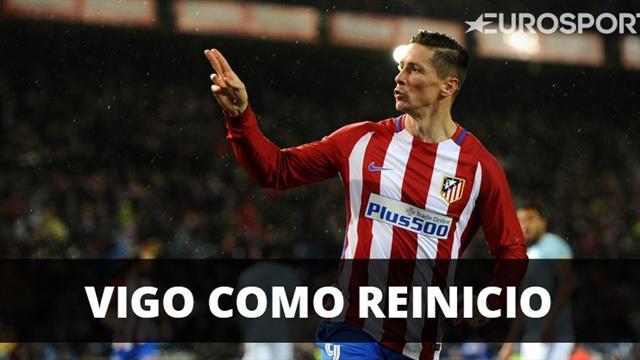 Atlético venció a Celta y sigue prendido en la pelea