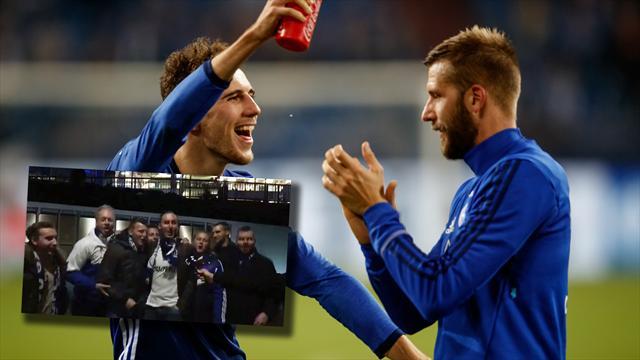 Absoluter Hit! Schalke-Fans performen den Burgstaller-Song