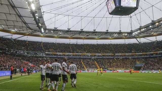 Eintracht saca punto al Dortmund