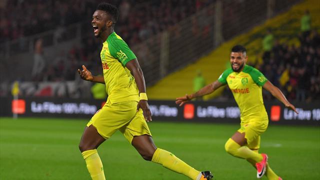 Nantes grimpe sur le podium, Rennes réagit et coule Lille