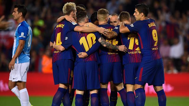 Chanceux puis solide, le Barça reprend ses distances