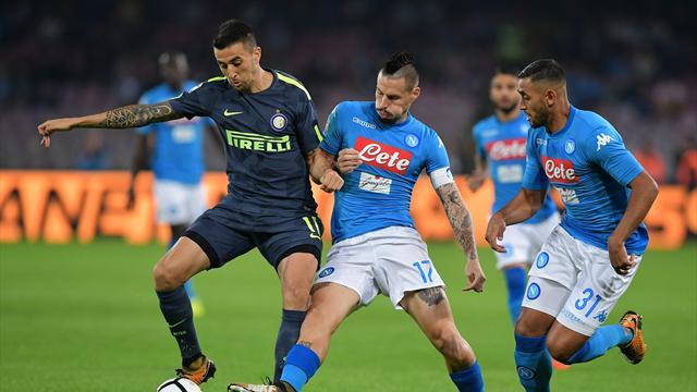 Inter-Napoli 0-0, Juve in testa, Sarri: