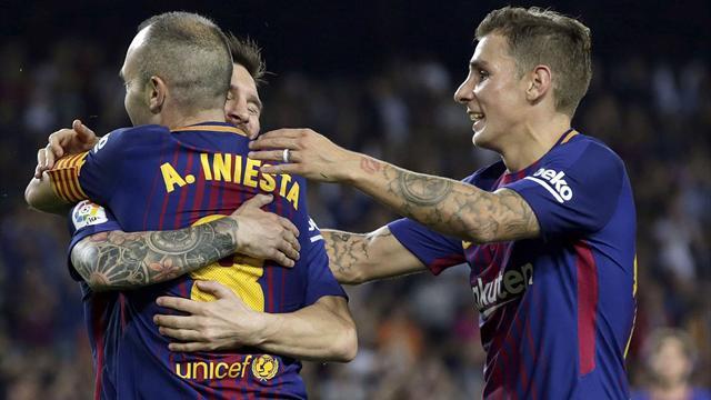 La solidez del Barça, el reencuentro de Iniesta y el peor inicio goleador de Suárez