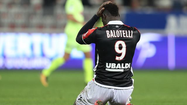 Touché au mollet, Balotelli va manquer la réception de Strasbourg