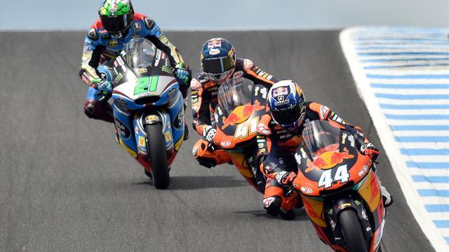 Première pour Oliveira, doublé pour KTM, joker pour Morbidelli