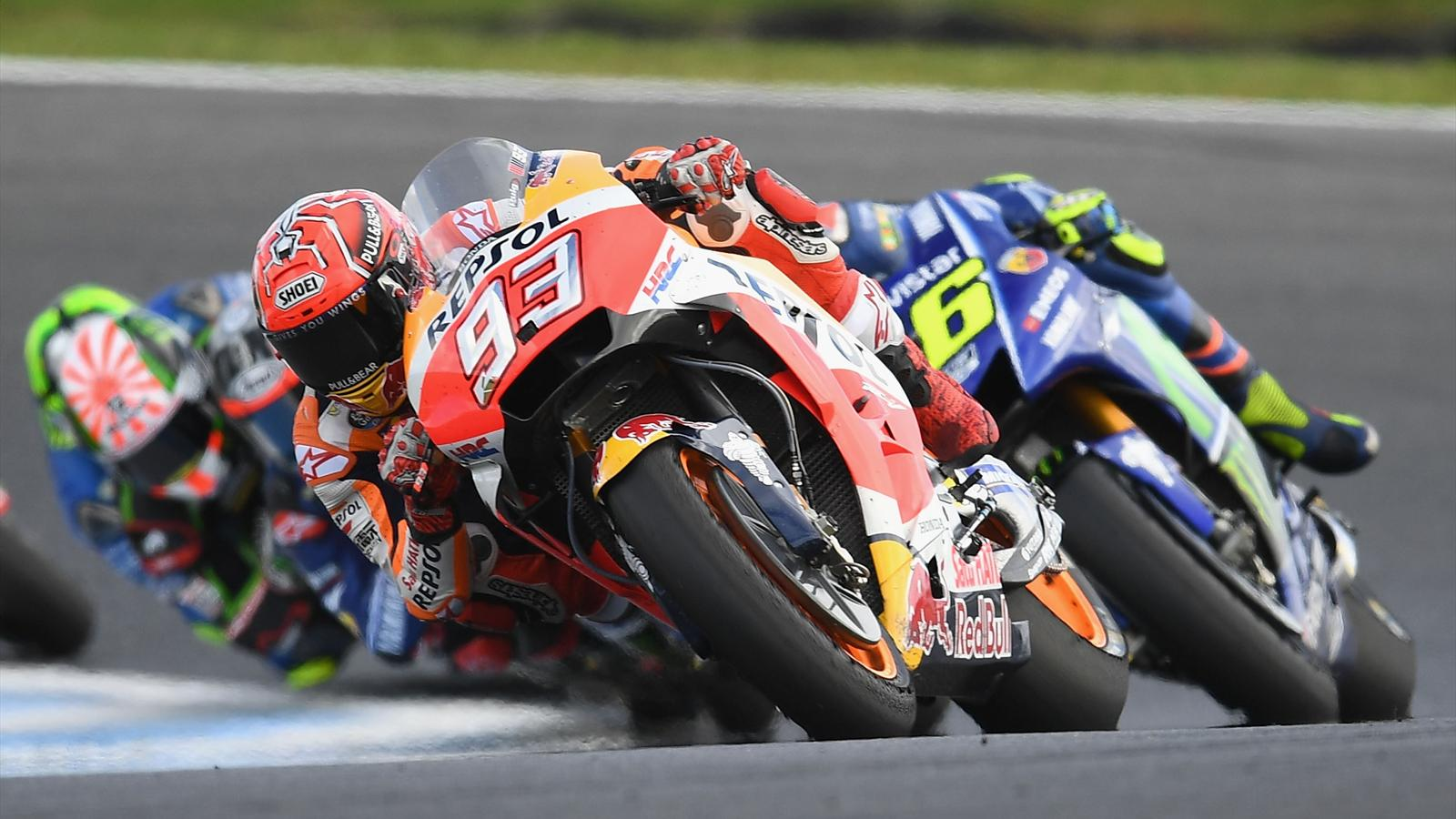 video motogp marquez rossi zarco et des d passements la pelle le r sum du grand prix. Black Bedroom Furniture Sets. Home Design Ideas
