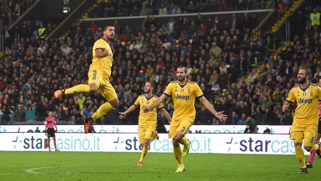 Le formazioni ufficiali Juventus-Udinese: Dybala e Higuain dal 1'