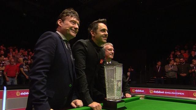 Magical O'Sullivan coasts to English Open title with flawless display