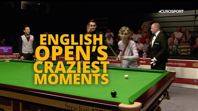 Fire, screams and an unlikely intruder: English Open's craziest moments