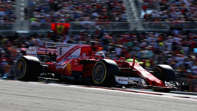 """Vettel : """"Je n'ai même pas essayé de suivre Hamilton"""""""