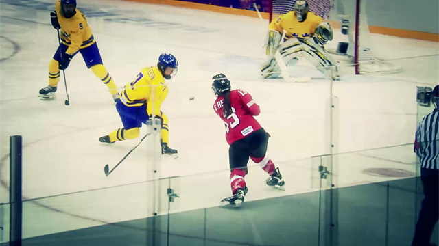 Le migliori giocate dell'hockey su ghiaccio a Sochi 2014