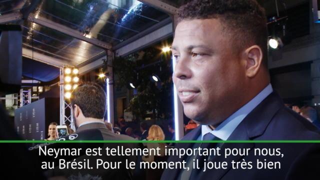 Ronaldo : »On espère que Neymar va continuer comme ça»