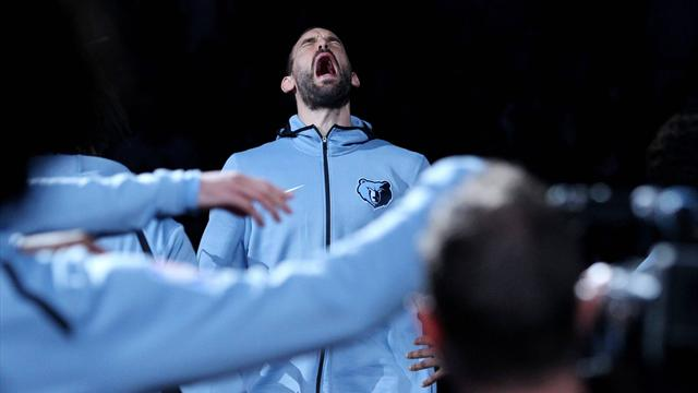 Marc Gasol será el primer jugador español al que una franquicia NBA retirará la camiseta