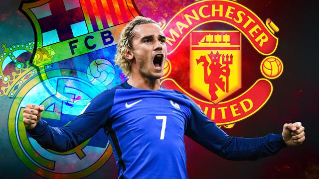 Euro Papers: Griezmann snubs Manchester United for Barcelona
