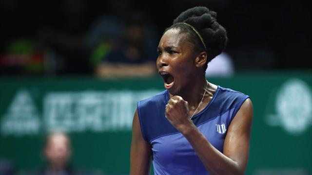 Wta Finals Singapore 2017: Venus Williams batte Muguruza e vola in semifinale