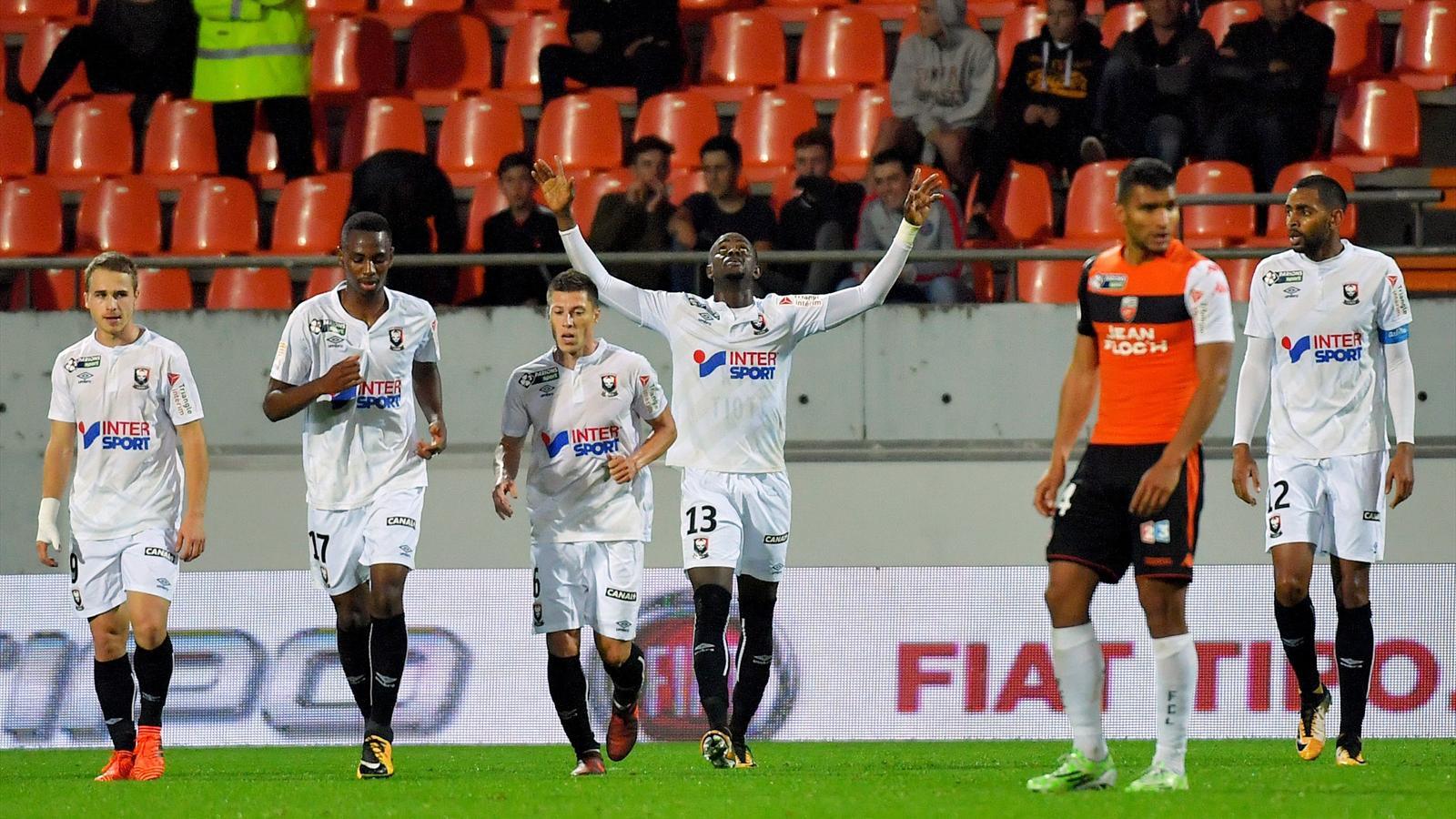 Caen limine lorient en 16e de finale 0 1 coupe de la - Resultats coupe de la ligue 1 football ...