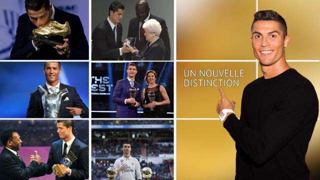 Cristiano Ronaldo, le collectionneur de récompenses