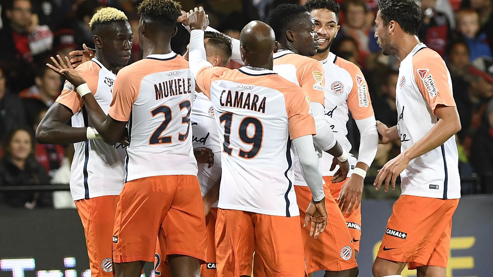 Montpellier sort guingamp en 16e de finale 0 2 coupe de la ligue 2017 2018 football - Foot coupe de france calendrier ...