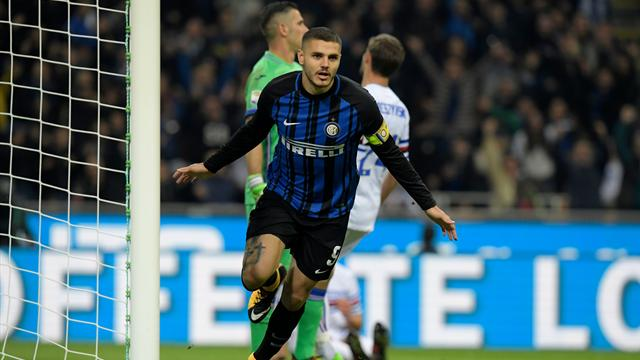Grâce à un grand Icardi, l'Inter est provisoirement aux commandes