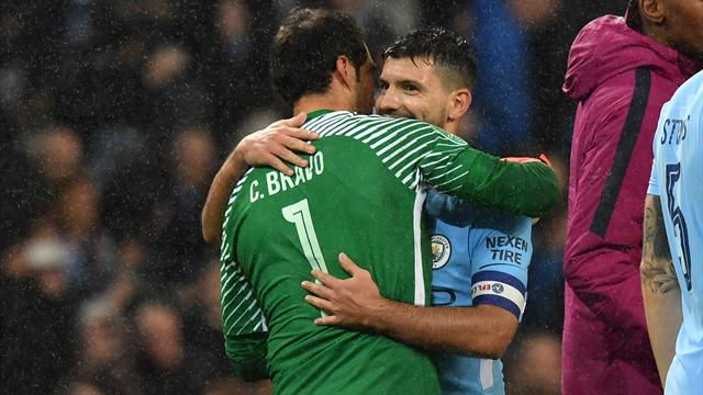 Bravo the hero as City beat Wolves on penalties