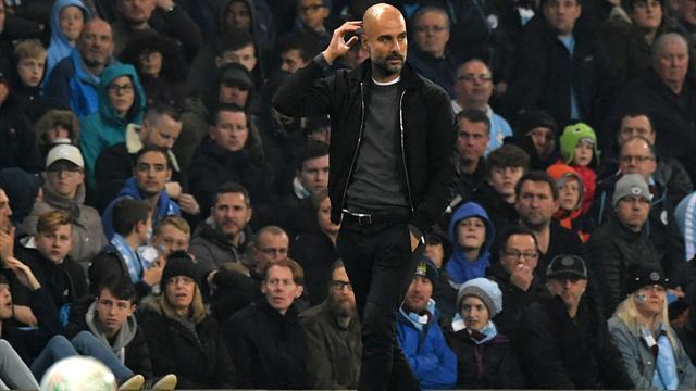 Guardiola critical of 'unacceptable' ball in League Cup win