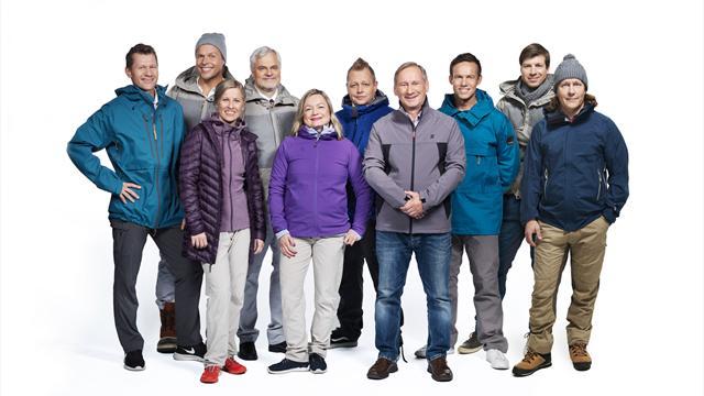 Eurosportille kivenkova talviurheilun selostustiimi!