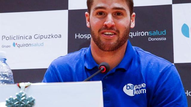 Lucas Eguibar se accidentó en Hintertux, pero recibirá el alta este jueves