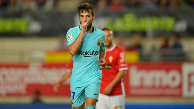 Paper Round: United fight Arsenal for Barca striker Arnaiz