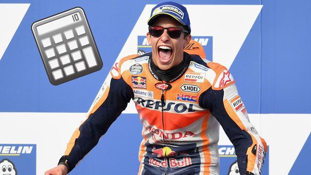 ¿Qué necesita Márquez para ser campeón del mundo de MotoGP?