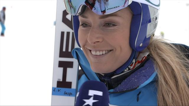 Lindsey Vonn exclusive: My focus this season is the Olympics